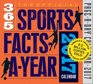 The Official 365 Sports Facts-A-Year Page-A-Day Calendar 2017 - cover