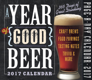 A Year of Good Beer Page-A-Day Calendar 2017 - cover