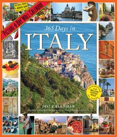 365 Days in Italy Picture-A-Day Wall Calendar 2017 - cover