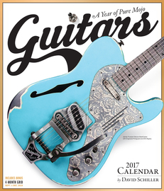 Guitars Wall Calendar 2017 - cover