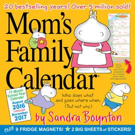 Mom's Family Wall Calendar 2017 - cover