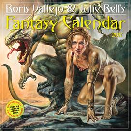 Boris Vallejo & Julie Bell's Fantasy Wall Calendar 2017 - cover