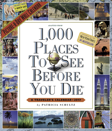 1,000 Places to See Before You Die Picture-A-Day Wall Calendar 2017 - cover