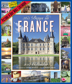 365 Days in France Picture-A-Day Wall Calendar 2017 - cover