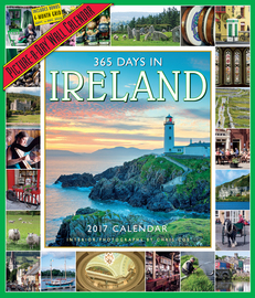 365 Days in Ireland Picture-A-Day Wall Calendar 2017 - cover