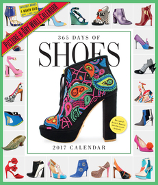 365 Days of Shoes Picture-A-Day Wall Calendar 2017 - cover