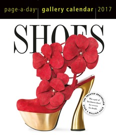 Shoes Page-A-Day Gallery Calendar 2017 - cover