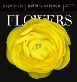 Flowers Page-A-Day Gallery Calendar 2017 - cover
