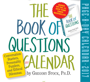 The Book of Questions Page-A-Day Calendar 2017 - cover