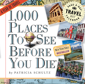 1,000 Places to See Before You Die Page-A-Day Calendar 2017 - cover