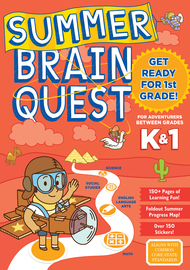 Summer Brain Quest: Between Grades K & 1 - cover