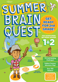 Summer Brain Quest: Between Grades 1 & 2 - cover