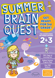Summer Brain Quest: Between Grades 2 & 3 - cover