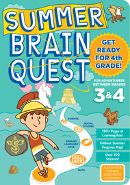 Summer Brain Quest: Between Grades 3 & 4 - cover