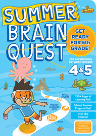 Summer Brain Quest: Between Grades 4 & 5 - cover