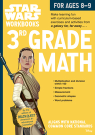 Star Wars Workbook: 3rd Grade Math - cover