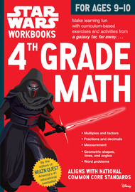 Star Wars Workbook: 4th Grade Math - cover