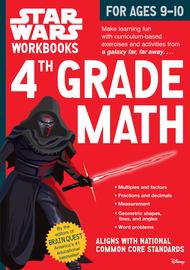Star Wars Workbook: 4th Grade Math - cover