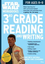 Star Wars Workbook: 3rd Grade Reading and Writing - cover