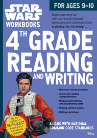 Star Wars Workbook: 4th Grade Reading and Writing - cover