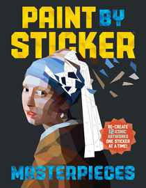Paint by Sticker Masterpieces - cover