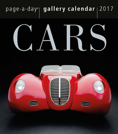 Cars Page-A-Day Gallery Calendar 2017 - cover