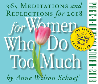 For Women Who Do Too Much Page-A-Day Calendar 2018 - cover