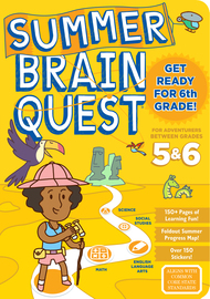 Summer Brain Quest: Between Grades 5 & 6 - cover