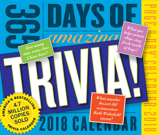 365 Days of Amazing Trivia! Page-A-Day Calendar 2018 - cover
