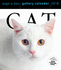 Cat Page-A-Day Gallery Calendar 2018 - cover