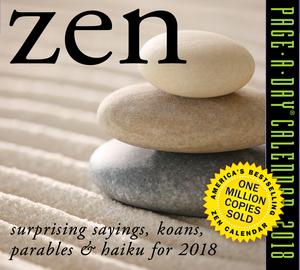 Zen Page-A-Day Calendar 2018 - cover