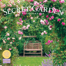The Secret Garden Wall Calendar 2018 - cover