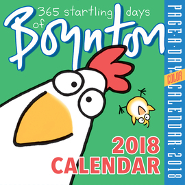 365 Startling Days of Boynton Page-A-Day Calendar 2018 - cover