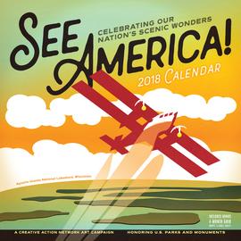 See America! Wall Calendar 2018 - cover