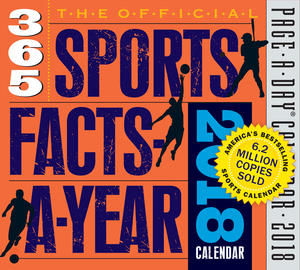 The Official 365 Sports Facts-A-Year Page-A-Day Calendar 2018 - cover