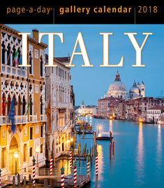 Italy Page-A-Day Gallery Calendar 2018 - cover