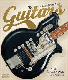 Guitars Wall Calendar 2018 - cover