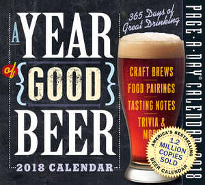 A Year of Good Beer Page-A-Day Calendar 2018 - cover