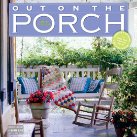 Out on the Porch Wall Calendar 2018 - cover