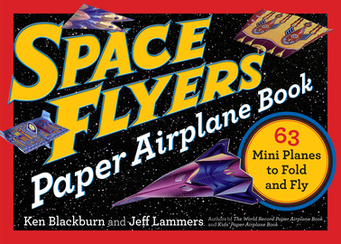 Space Flyers Paper Airplane Book - cover