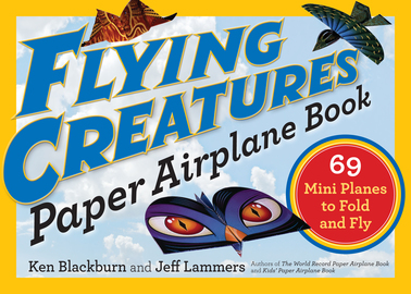 Flying Creatures Paper Airplane Book - cover