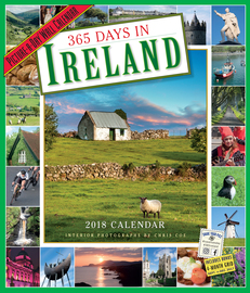 365 Days in Ireland Picture-A-Day Wall Calendar 2018 - cover