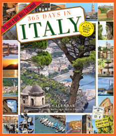365 Days in Italy Picture-A-Day Wall Calendar 2018 - cover