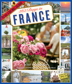 365 Days in France Picture-A-Day Wall Calendar 2018 - cover