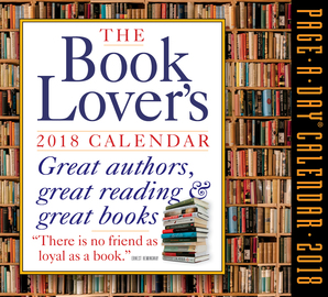 The Book Lover's Page-A-Day Calendar 2018 - cover