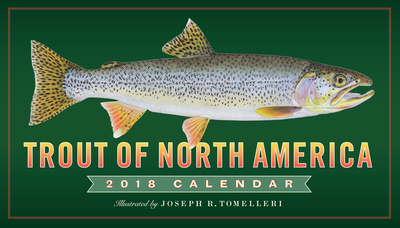 Trout of North America Wall Calendar 2018 - cover