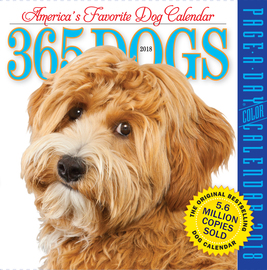 365 Dogs Page-A-Day Calendar 2018 - cover
