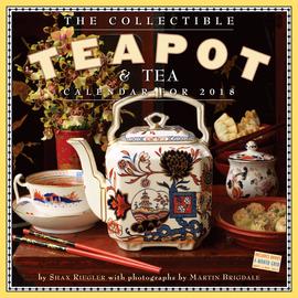 The Collectible Teapot & Tea Wall Calendar 2018 - cover