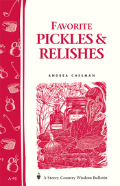 Favorite Pickles & Relishes - cover