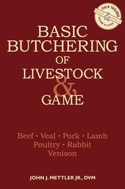 Basic Butchering of Livestock & Game - cover